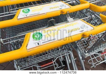 Yellow Shopping Carts