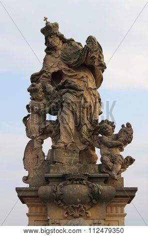 Saint Ludmila Statue