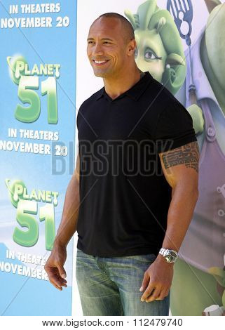 Dwayne 'The Rock' Johnson at the Los Angeles Premiere of