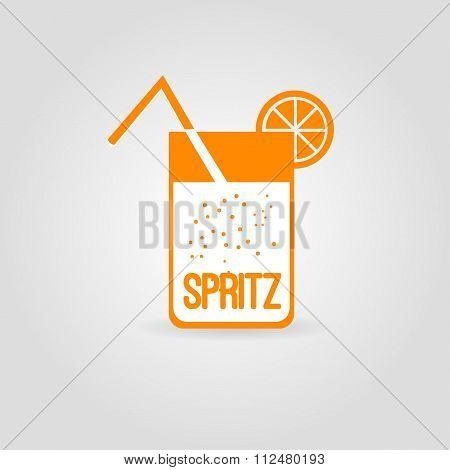Cocktail spritz icon