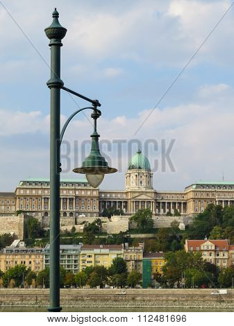 View of the Royal Palace (Budavari Palota), Budapest, Hungary