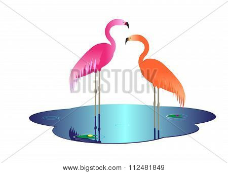 icon flamingo.