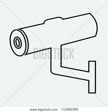 an images of illustration vector Cctv Icon cctv security iconcctv camera