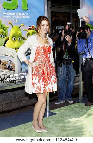 14/11/2009 - Westwood - Jessica Biel at the Los Angeles Premiere of