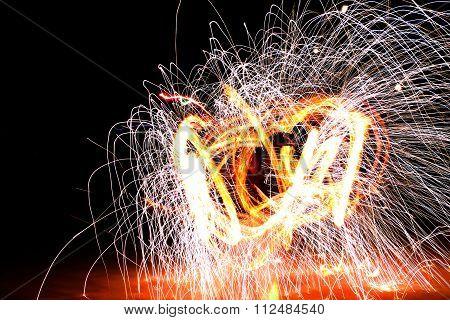 Fire Abstact Fire Swirl Fire