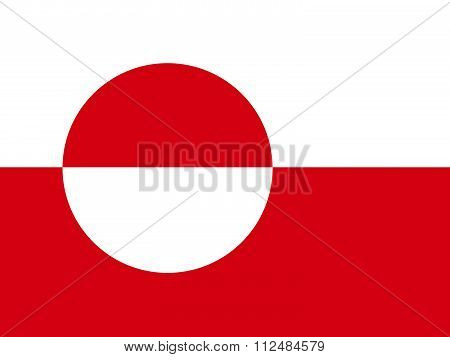 an images of illustration Flag of Greenland