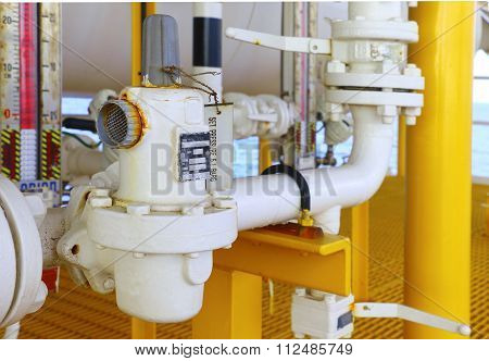 Oil And Gas Pressure Regulator.
