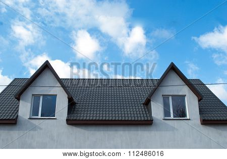 House Roof Two Floors