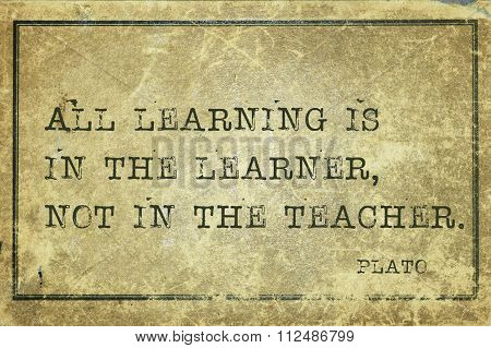 All In Learner Plato