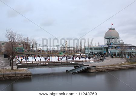 Old Port Montreal Skating