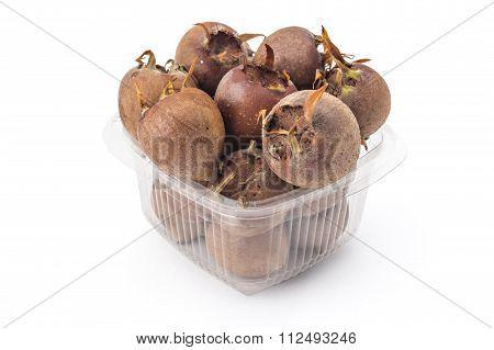 Fresh organic medlars