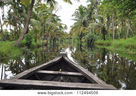 Tranquility in Kerala Backwaters