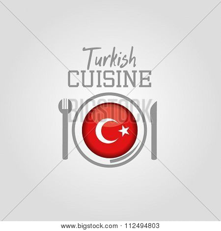 Turkish cuisine icon