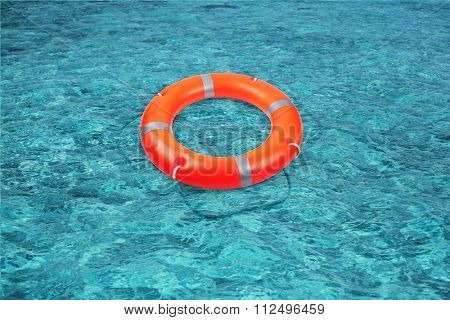 A life buoy for safety at sea