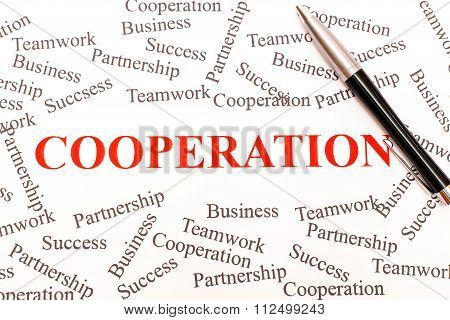 Business Abstract - Cooperation.