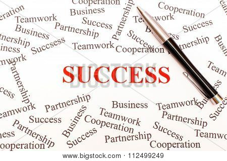 Business Abstract - Success.