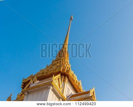 Temple Of The Golden Buddha (wat Traimit) In Bangkok