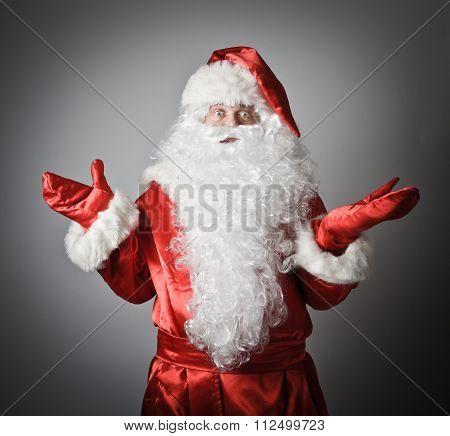 Confusion Of A Santa Claus