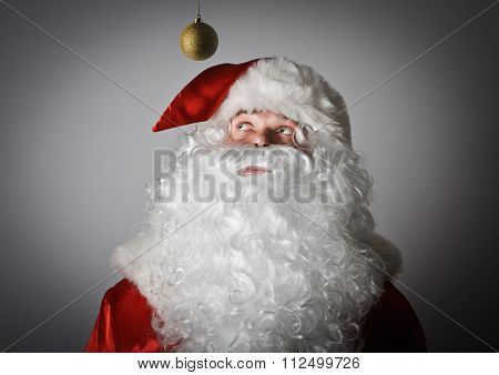 Santa Claus And Christmas Toy