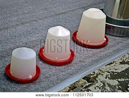 Barrier From Few Plastic Containers, Modern Industry