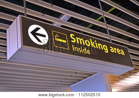 Smoking Place Signin Airport, Healthcare Problems
