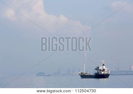 cargo freighter ship