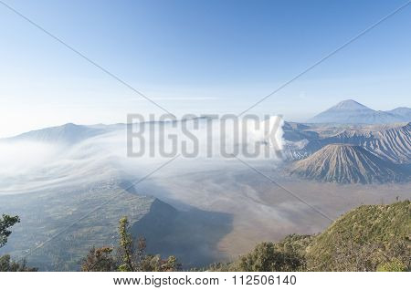 Mount Bromo After Sunrise.