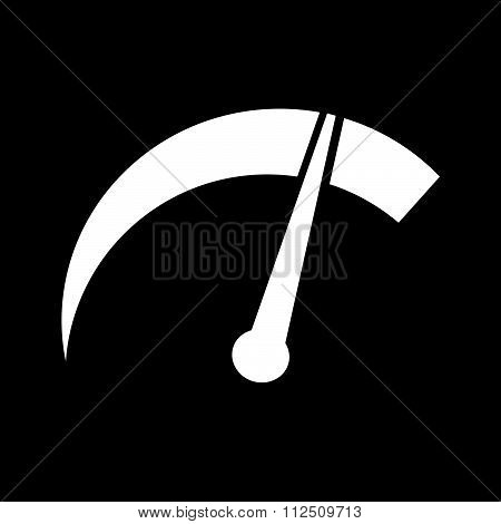 an images of illustration vector tachometer icon