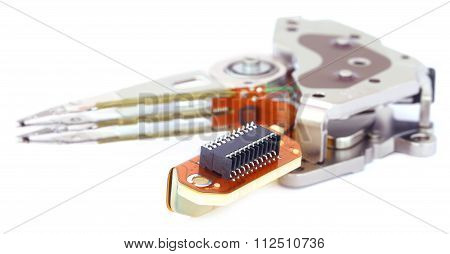 Parts Of A Hard Disk
