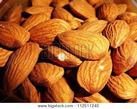 Delicious Healthy Almonds Nut