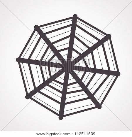 an images of illustration vector Web net spiderweb icon