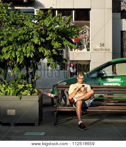 Ho Chi Minh City, Vietnam, Traveller, Tourist