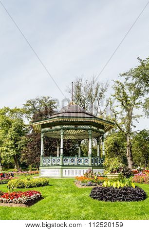 Fancy Gazebo In Public Garden