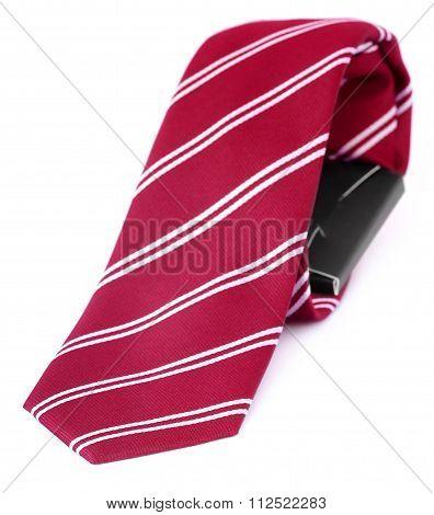 Close Up Of A Necktie