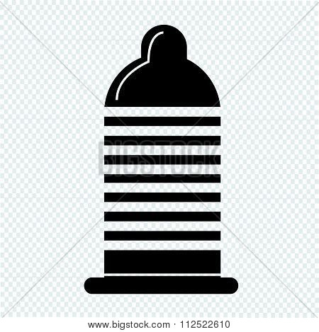 an images of illustration vector condom icon