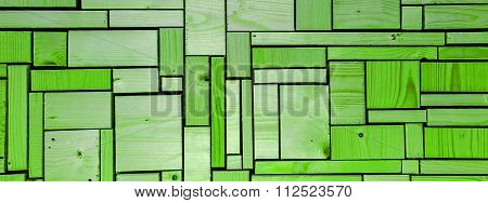 Green Color Abstract As A Background Texture.