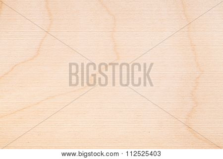 Closeup New Plywood Pattern For Background Texture