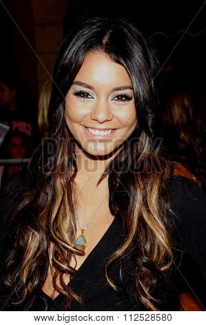 DISNEYLAND, CALIFORNIA - May 7, 2011. Vanessa Hudgens at the World premiere of
