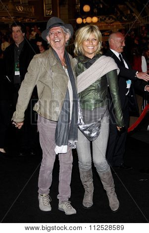 DISNEYLAND, CALIFORNIA - May 7, 2011. Kieth Richards at the World premiere of