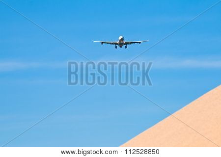 Aircraft In Landing Approach