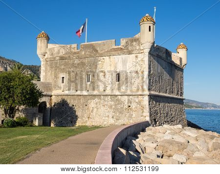 Fortress Bastion In Menton, France