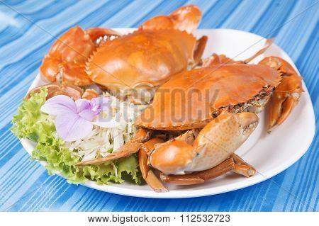 Hot Steam Big Crab
