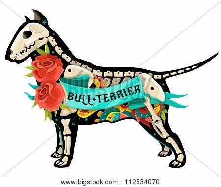 Vector Bull Terrier