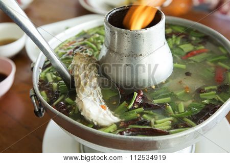 Fish Tom Yum Soup