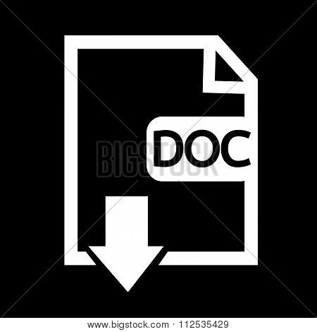 an images of File type DOC icon