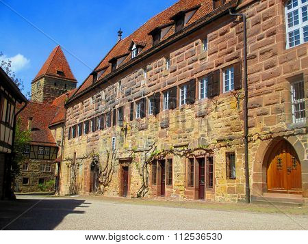 Maulbronn Monastery In Germany. Unesco World Heritage Monument