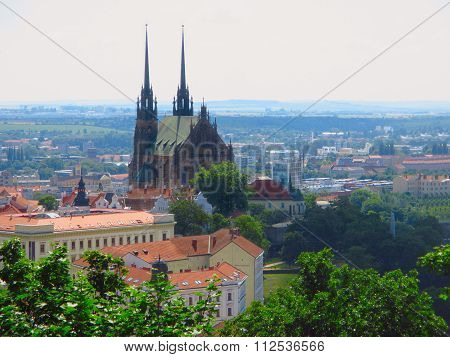 Cathedral Of St. Peter And Paul. Brno, Czech Republic