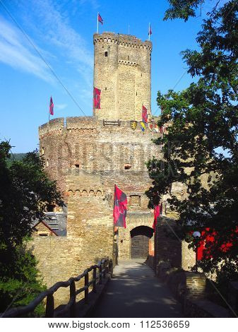 Ehrenburg Castle In Mosel Region