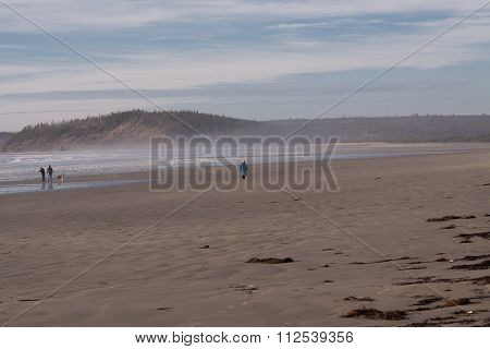 Clam Beach in Nova Scotia,eastern shore