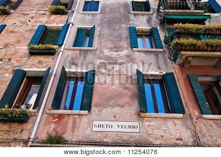 Italy, Venice. Jewish quarter, ghetto